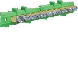 Клеммник Hager KM17E, 1x25+8x16+8x10 мм2