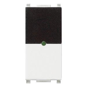 ИК приемник с реле Vimar Plana IR, 1 мод., 1NO, 6А/250В, белый