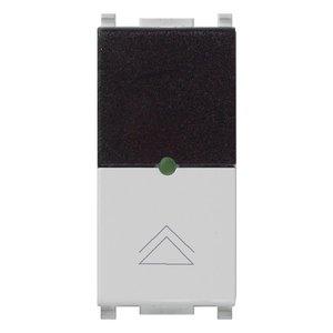 ИК приемник с диммером Vimar Plana IR, 2 мод., Triac, 40...450 Вт, 230В, серебро матовое