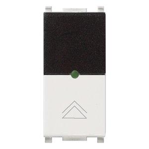 ИК приемник с диммером Vimar Plana IR, 2 мод., Triac, 40...450 Вт, 230В, белый