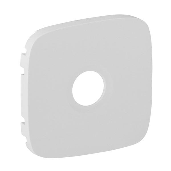 Накладка розетки Valena Allure TV, белый