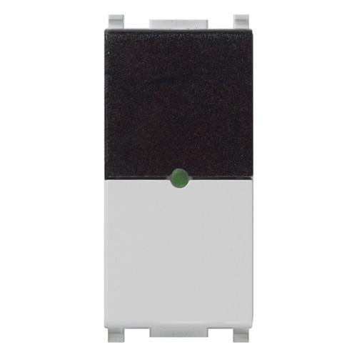 ИК приемник с реле Vimar Plana IR, 1 мод., 1NO, 6А/250В, серебро матовое