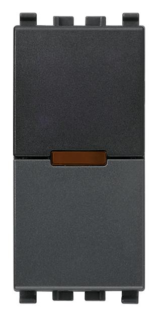 ИК приемник с реле Vimar Eikon IR, 1 мод., 1NO, 6А/120В, серый